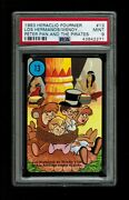 Psa 9 The Lost Boys Tied To A Stake 1983 Disney Peter Pan Fournier Card 13