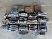 26 Vintage Car Radios For Parts Or Restore Ford Chevy Dodge Nash Untested