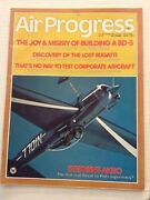 Air Progress Mag Stall/spin Syndrome King Kong Cub August 1973 092319nonrh
