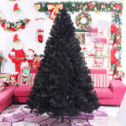 Best Black Artificial Christmas Tree Holiday Indoor Plastic Stand Base Xmas Home