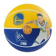 Spalding Nba Player Stephen Curry Basketball Game Ball Size 7 / 29.5 83-844z
