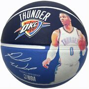 Spalding Nba Player Russell Westbrook Basketball Game Ball Size 7 / 83-862z