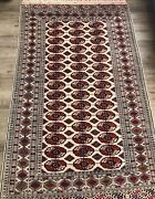 Bohemian Style Hand Made Authentic Turkmen Rug