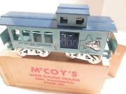 Mccoy Standard Gauge- 24th National Convention- 1978- Boston- Caboose- Boxed- B1