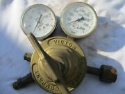 Gently Used Victir Equipment Co. Compressed Gas Regulator 4000psi/great Quality