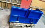 Tractor Mount Transport Box 3 Point Linkage Farm Agricultural Implement 4 Ft.