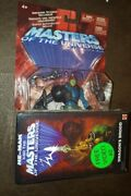 Vintage Master Of The Universe Trapjaw Figure Toy Vhs Tape Mattel 55626 Htf New