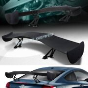 Universal 57 Wing Dragon-1 Style Black Abs Gt Trunk Adjustable Spoiler Wing