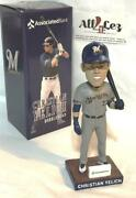 2019 Milwaukee Brewers Christian Yelich Associated Bank Exclusive Bobblehead
