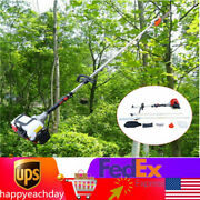 42.7cc 12and039and039 2 Stroke Gas Powered Pole Saw Chainsaw Pruner Trimmer Usa Sale