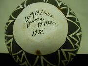 Lucy M. Lewis Pottery/native American, Acoma Pueblo