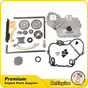 Timing Chain Kit Cover Gasket Gear Oiler Oil Pump Bolts Fit Chevy Hhr Cobalt