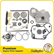 Timing Chain Kit Gear Oiler Bolts Gasket Water Oil Pump Fit Chevrolet Pontiac