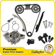 Timing Chain Kit Water Pump Gear Oiler Bolts Fit Chevrolet Saturn 2.2l 00-08