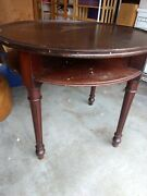 Antique Gaming Table, Cherry Wood, Early 1900's