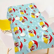 3d Yellow Moon Hat A52 Christmas Tablecloth Table Cover Cloth Birthday Party Zoe