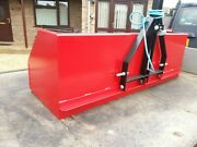 3 Point Linkage Tipping Box Transport Tractor Mount Farm Field 5 Ft. Load Carry
