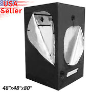 Indoor Grow Tent Room 48 X48 X80 Mylar Reflective Hydroponic Plants Box 4and039x4and039
