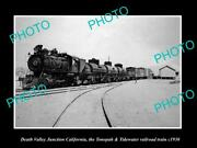 Old Historic Photo Death Valley California Tonopah And Tidewater Railroad C1930