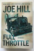Full Throttle Stories Signed Joe Hill First Edition Hardcover