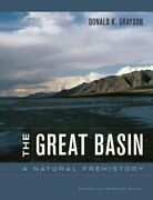 The Great Basin A Natural Prehistory, Grayson 9780520267473 Free Shipping+=