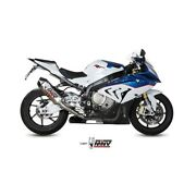 System Complete Mivv Bmw S 1000 Rr 15-16 Power Steel Speed Edge Inox Cup Carb