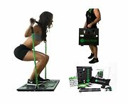 Bodyboss 2.0 Full Portable Home Gym Workout Resistance Bands Green Full Gym New