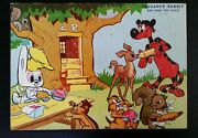 Vintage Crusader Rabbit And Rags The Tiger Puzzle Complete