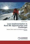 Lean Implementation In Rosti Ab  Opportunities And Challenges