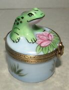 New Small Frog, Limoges Box Number 31 New