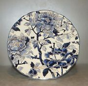 New Dessert Plate Hand Painted , From Gien/ With Certificate