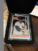 1966 Topps Mantle Keeper Series Counterproof The Finder 10/50 Metal Awesome