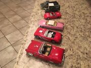 Antique Die Cast Cars And Trucks, Selling In Lot Of Five 5