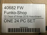 12 Days Of Christmas Blind Bundle 2018 Funko Shop Exclusive Holiday Pack Limited