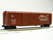 Lionel Santa Fe 50and039 Double Door Boxcar 10295 Scout Stock Freight 1926442 New
