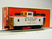 Lionel O Gauge Union Pacific Safety Ca-4 Caboose 3859 Crew Lite Up 1926493 New
