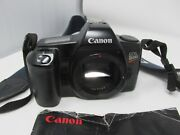 Canon Eos Rebel Slr Camera Black Autofocus Light And Compact - Body Only