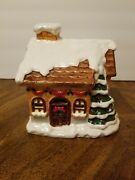 Lot Of 3 Christmas Village Houses 5 W 5t