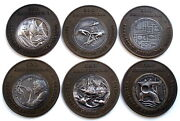 Spain, 500th Anniversary Of The Discovery Of America 1992 6 Medals, Rare B11