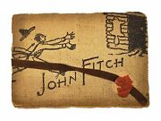 Thornton M Ware / John Fitch The Founder Of Fitchburg / 1896 Play Program