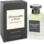 Abercrombie And Fitch Authentic Cologne For Him Edt 3.3 / 3.4 Oz Men New In Box
