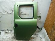 2008 Honda Element Driver Left Rear Door Shell Bare Kiwi Green Oem 2003-2011
