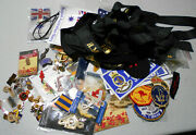 Ee. Large Lot Of Modern Australian Military Related Items - Badges, Stickers ..