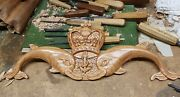 Submarine Dolphins , Submariner, Royal Navy, Wall Plaque, Hand Carved Solid Oak