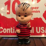 Linus 1950 Soft Vinyl Doll Figure Hunger Ford Peanuts Snoopy