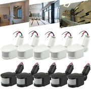 180°led Outdoor Infrared Pir Motion Sensor Detector Wall Light Switch Free Ship