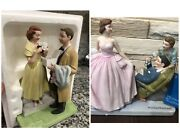 Norman Rockwell The American Family Series Figurines First Prom And Sweet Sixteen