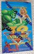1996 Marvel Iq Overpower Factory Sealed Booster Box Super Rare