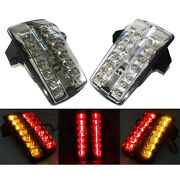 E-marked Tail Turn Signals Integrated Light For 03-15 Suzuki Sv650 Sv 650 1000 S