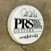 Prs Paul Reed Smith Guitars Light Up Led Wall Sign Music Instrument Acoustic